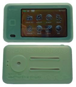 GREEN Soft Silicone Skin Case For Creative Lab Zen X-fi 2 2n