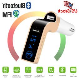 Handsfree Wireless Bluetooth Car Kit FM Transmitter MP3 Play