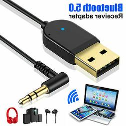Wireless USB Bluetooth Audio Receiver Adapter For Phone Home