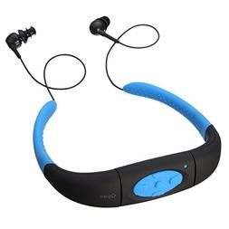 Efanr Head Mounted Waterproof MP3 Player, with Hi-fi Stero E