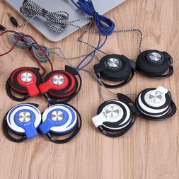 Headset Clip On Ear Sport Headphones EarHook Earphone For Mp