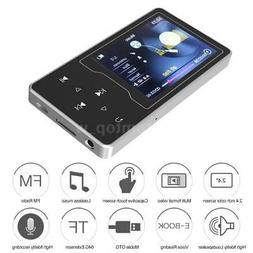 HiFi Lossless 8GB-64GB RUIZU Mini MP3 MP4 Player Music Audio