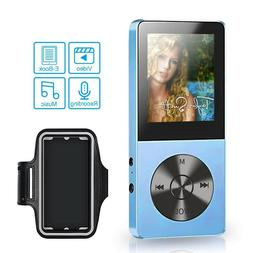 Honlibey Portable MP3/MP4 Player, 8GB Running MP3 Player Spo