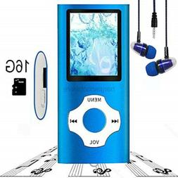 Hotechs. MP3 Player/MP4 Player, Hliwoynes MP3 Music Player w
