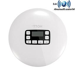 HONGYU HOTT Portable Bluetooth CD Player with LED Display/He