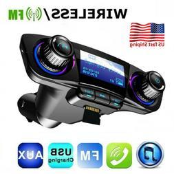 In-Car Wireless LCD FM Transmitter MP3 Player Radio Car Phon