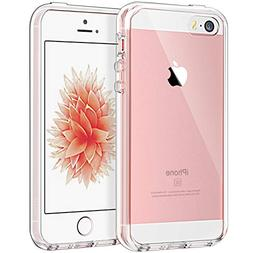 JETech Case for Apple iPhone SE 5S 5, Shock-Absorption Bumpe