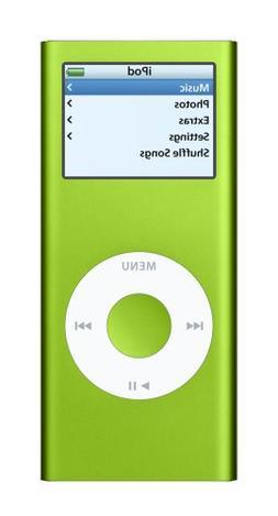 Apple iPod nano 4 GB Green
