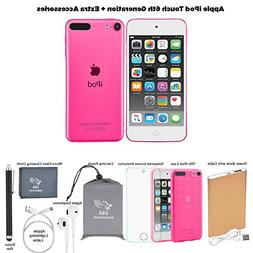 Apple iPod Touch 6th Generation 32GB Pink Extra Accessories