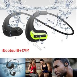 IPX8 Waterproof Bluetooth Headsets Wireless Headphones for S