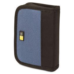 Case Logic JDS-6 USB Drive Shuttle 6-Capacity-Black/Blue