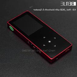 BENJIE K8 8GB Bluetooth MP3 Music Player Touch Screen Metal