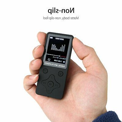 """1.8"""" Screen MP3 Music Player Lossless w/ FM Support 32GB"""