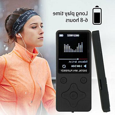 """1.8"""" LCD Screen MP3 Music MP4 Player Lossless FM Radio Support"""