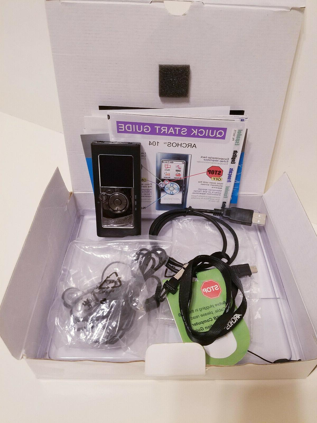 104 4gb mp3 player new in box