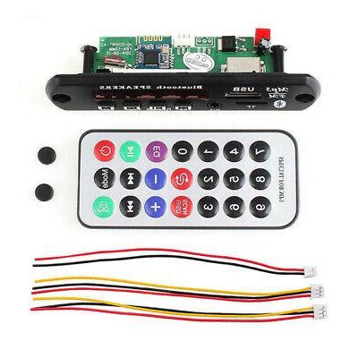 Automobile MP3 Player FM Radio Bluetooth 5.0 Speaker Module