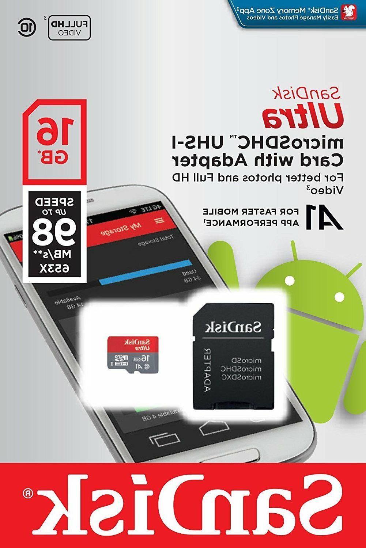 16gb 128gb microsdxc flash memory card class