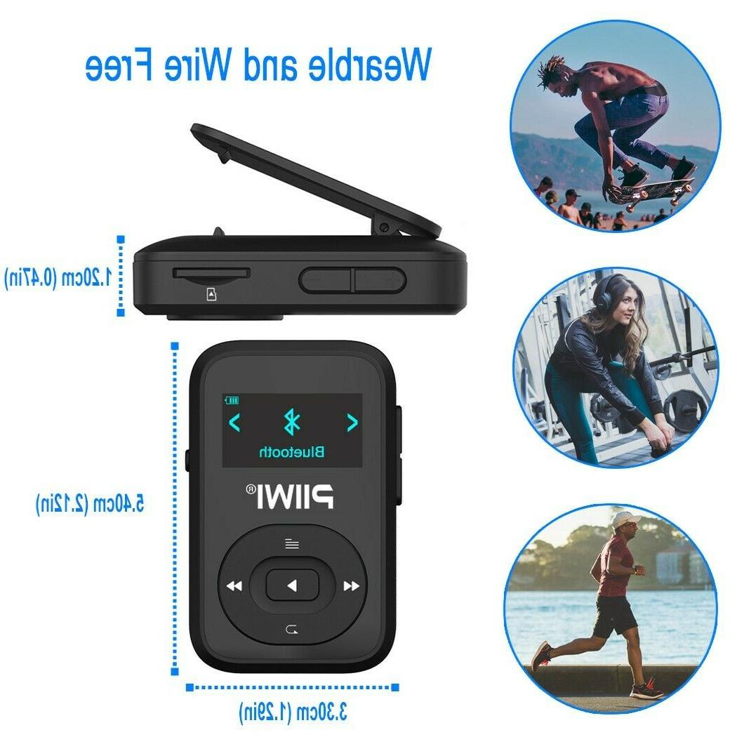 16GB Bluetooth MP3 with and FM Radio
