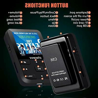 HONGYU 16GB Player with Bluetooth Inch