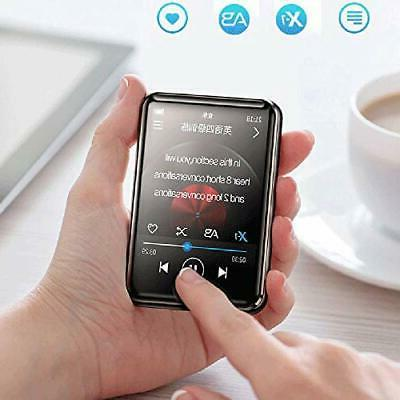 HONGYU 16GB MP3 Player Bluetooth with inch Full