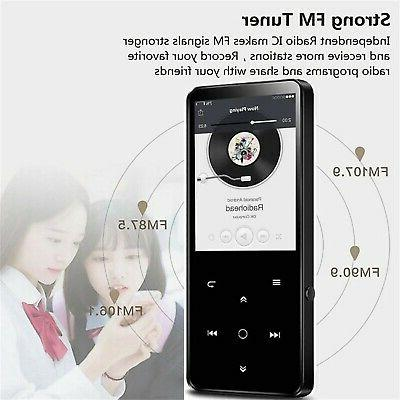 HONGYU Player with Bluetooth Touch Button 2.4 Inch Screen,Portab... New