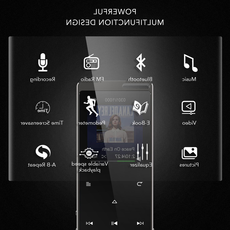 AGPTEK X15ST MP3 Touch with FM