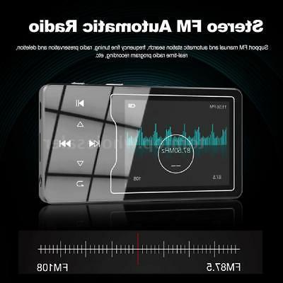 "RUIZU 2.4"" HiFi Lossless Music Audio FM Radio TF"