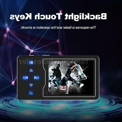 """RUIZU 2.4"""" Mini HiFi Player Music Video Radio"""