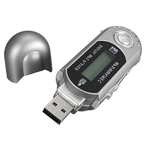 2/4/8GB USB Drive LCD Mini Music Radio