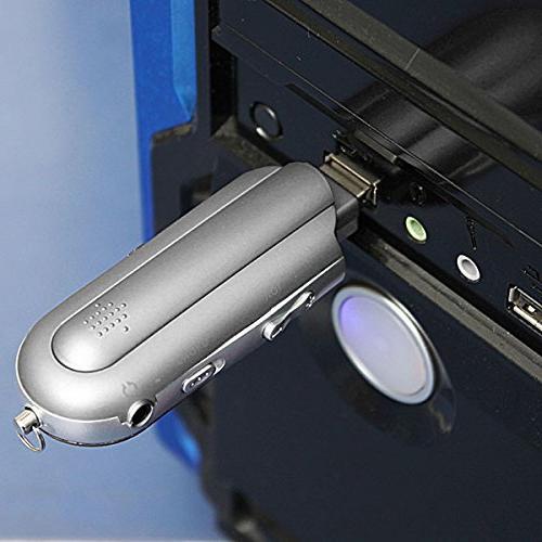 2/4/8GB Drive Mini Radio Voice Recorder