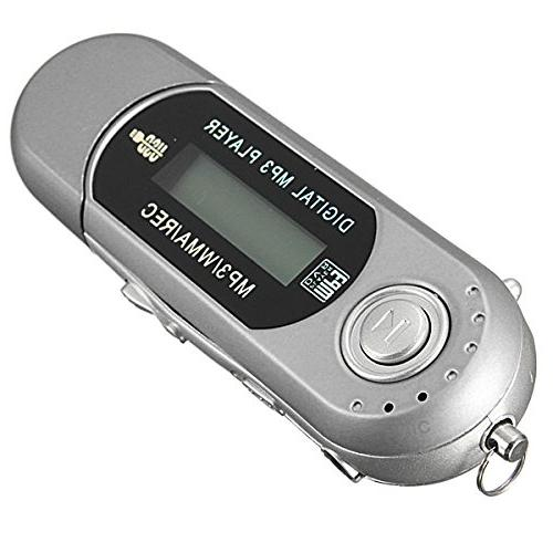2/4/8GB Drive LCD Music w/ FM Radio Recorder