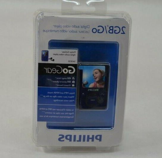 2gb gogear digital audio video player new