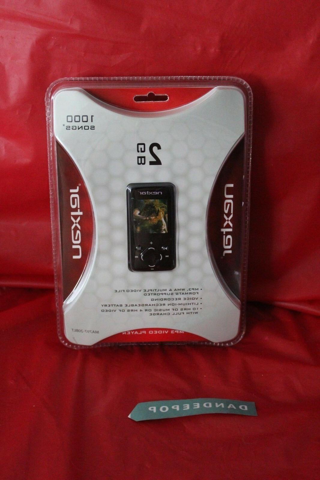 Nextar 2GB Mp3 Video Player Ma797-20BLT 2008