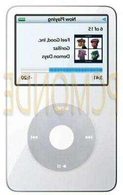 Apple 30 GB iPod Video AAC/MP3 Player - White - 5.5 Generati