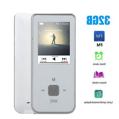 HiFi MP3 Lossless Sound Recorder FM Up 32GB