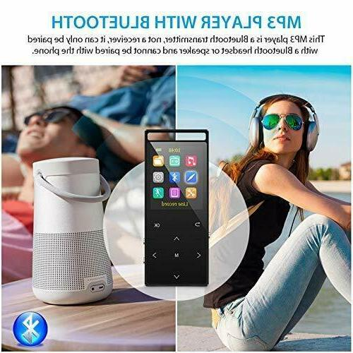 32GB Players Bluetooth, Hi-Fi Lossless Sound with Radio Record