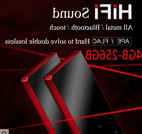 4 256gb bluetooth hifi mp3 mp4 player