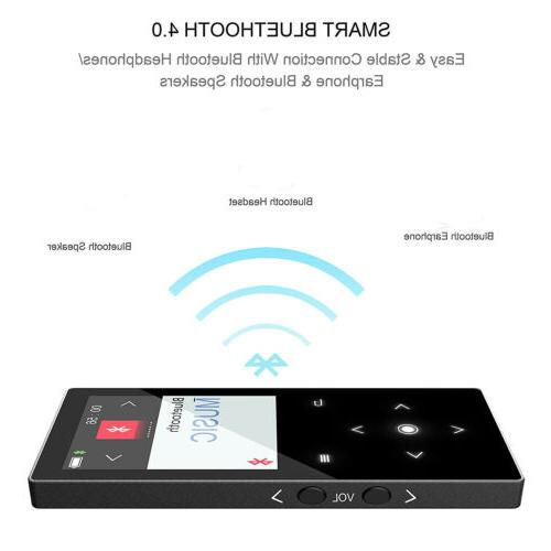 4-256GB MP3 MP4 Player FM Radio Video