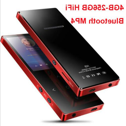 4 256gb bluetooth mp3 mp4 lossess touch