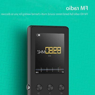 Portable MP3 Player FM Hi-Fi Lossless up 64GB