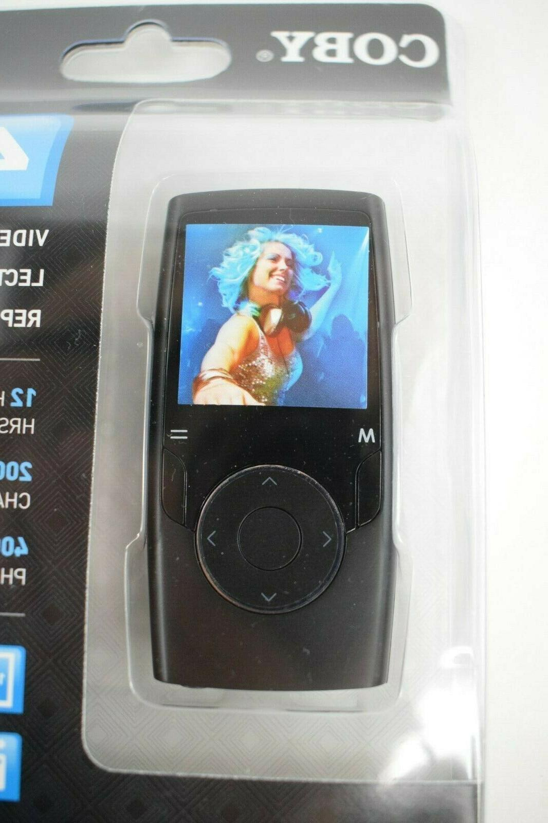 Coby 4GB Video MP3 New Screen Music