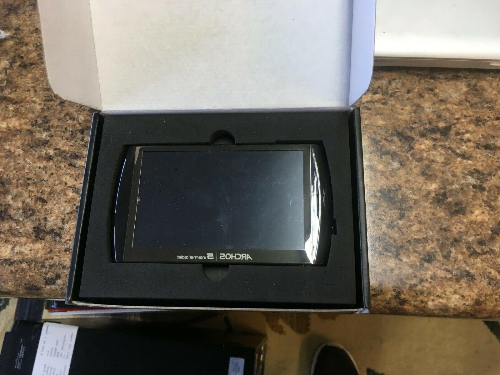 Archos 5 16 Internet with New in Box