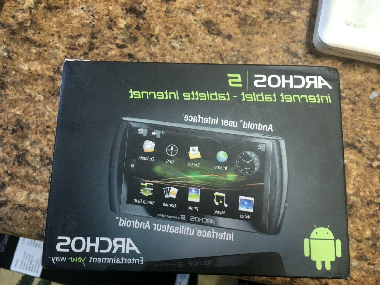 5 16 gb internet tablet with android