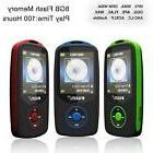 64G Support RUIZU X06 Bluetooth Sport MP3 Player TF Card Mus