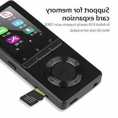 8GB BT Player HIFI Speakers Media FM Radio