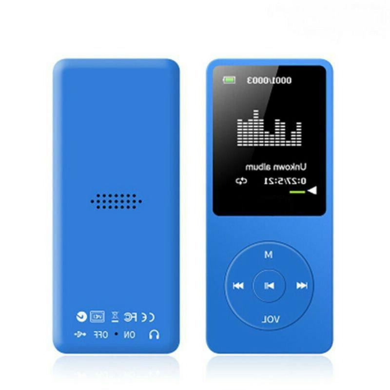 70 Playback MP4 Player FM Earphone