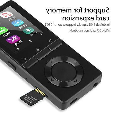 70 Playback MP4 Lossless Music Player TF Card