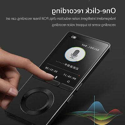 70 Hours MP4 Lossless Sound Music Player Recorder TF