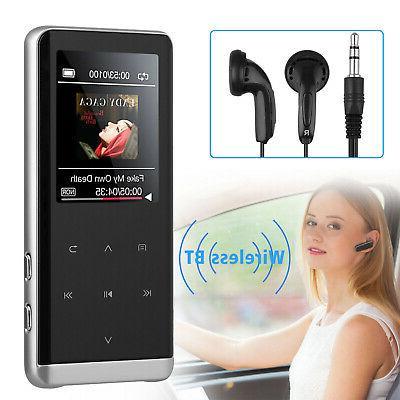 8/32GB Bluetooth MP4 Media FM Recorder HIFI Sport Speaker