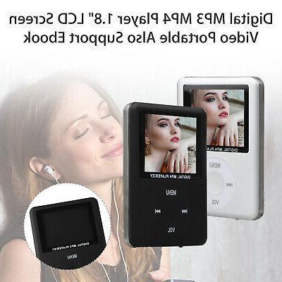 8GB-32GB Digital MP3 Player LCD Video Movie FM